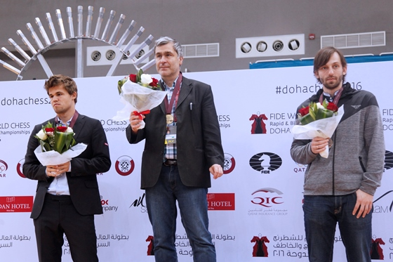 Vassily Ivanchuk wins FIDE World Rapid Championship