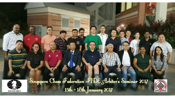 FIDE Arbiters' Seminar in Singapore