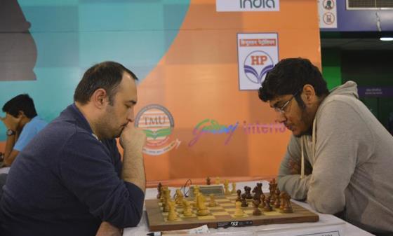 GM Farrukh Amonatov and IM Swayams Mishra