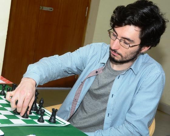 GM Tukhaev Adam (Ukraine) leads the tournament