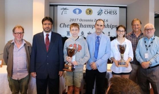 Smirnov and Timurgazi win Oceania Zonal Championships