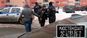 Borislav Ivanov on his way to the police car