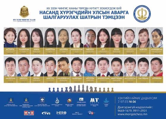 Mongolian Chess Championships 2017