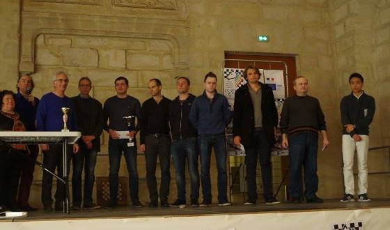Rochefort Chess Festival Podium