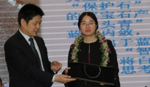 World Champion Tan Zhongyi honored in China