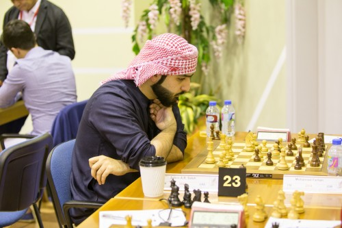 GM Salem Saleh is back on track after winning three games in a row