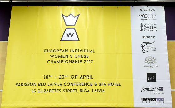European Women's Chess Championship Started