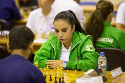 Maya Yalkanova (Turkmenistan)