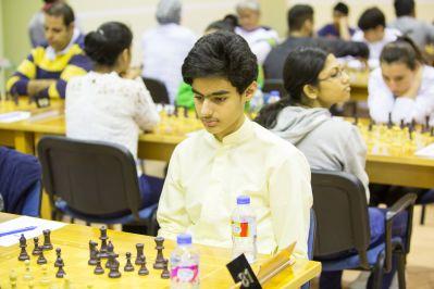 UAE's talent Salem Ahmed Salem upset IM Irina Berezina (AUS)