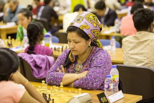 WGM Mahri Geldiyeva (Turkmenistan)