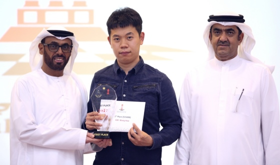 Wang Hao wins 1st Sharjah Open
