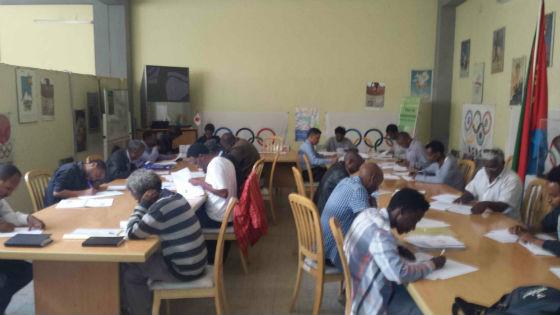 FIDE Arbiters' Seminar in Asmara, Eritrea 1