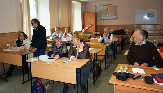 FIDE Arbiters' Seminar in Moscow, Russia