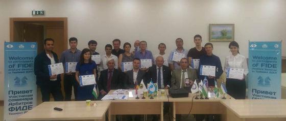 FIDE Arbiters' Seminar in Tashkent, Uzbekistan