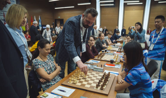 FIDE World Chess Team Championships - Round 1