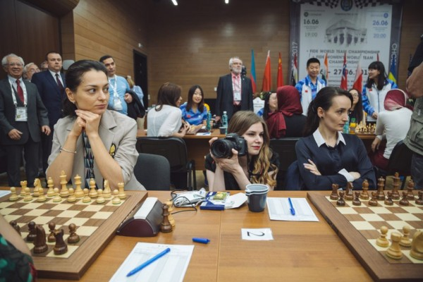 China and Russia with gold medals in World Chess Team Championships