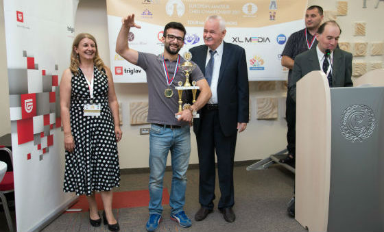 European Amateur Chess Championship concluded in Nis