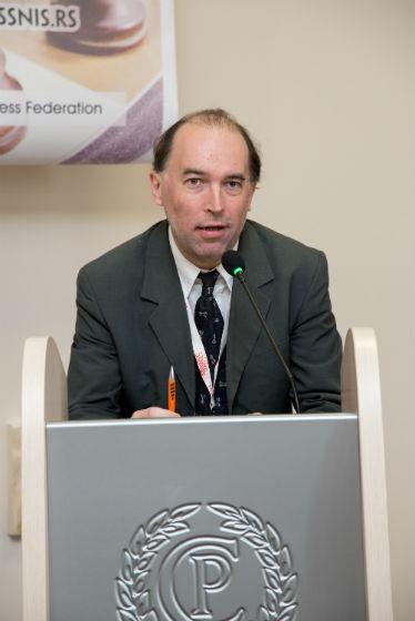 Chief Arbiter Dominique Dervieux