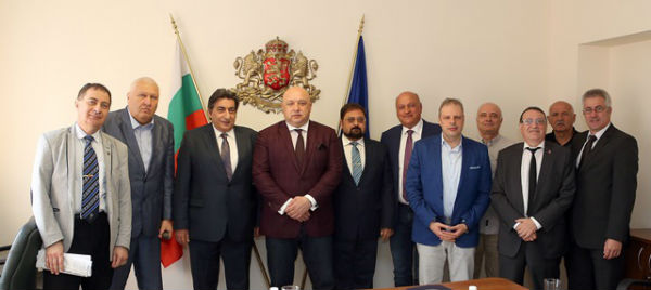 Meeting with Bulgarian Minister of Youth and Sports 3