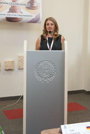 Tournament Director Dragana Simic