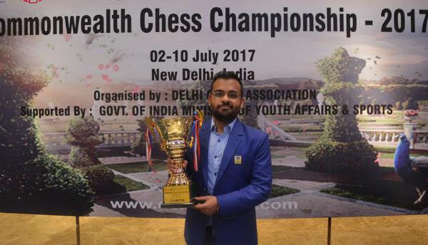 Commonwealth Champion Abhijeet Gupta