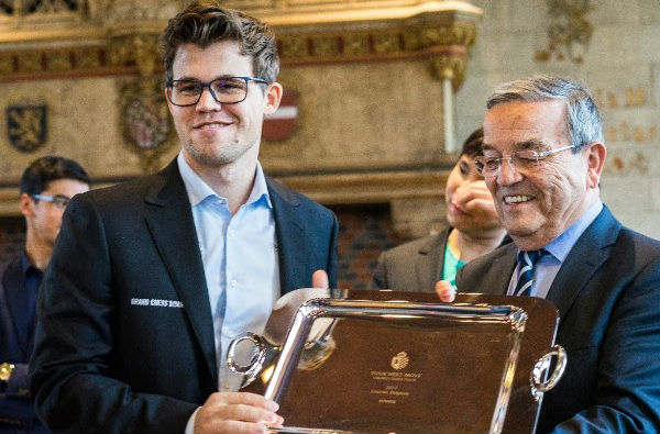 Magnus Carlsen dominated Your Next Move in Leuven