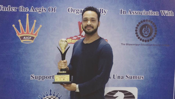 Anwesh Upadhyaya Wins National Rapid