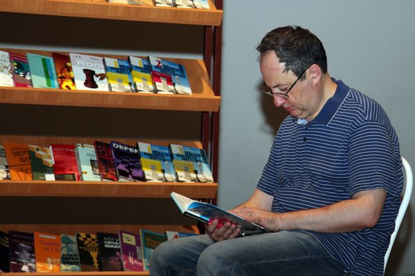 Boris Gelfand reading