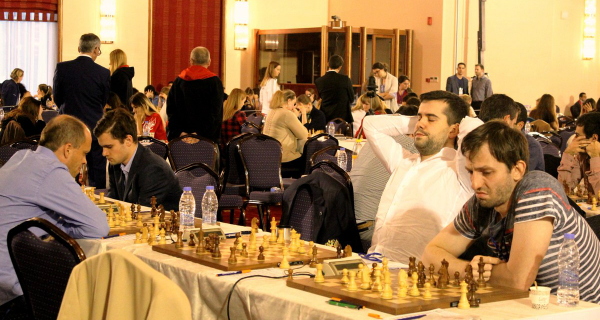 European Team Chess Championship - Round 3