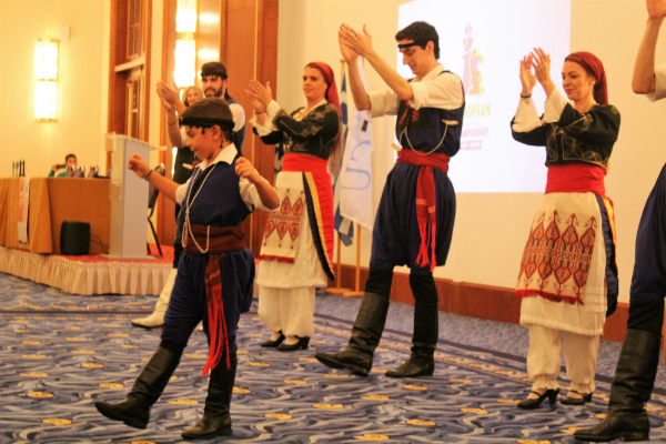 """Opening Ceremony of European Team Chess Championship"""