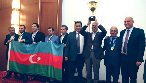 Azerbaijan and Russia win 2017 European Team Chess Championships