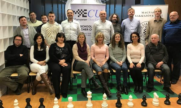 ECU School Chess Teacher training course in Budapest