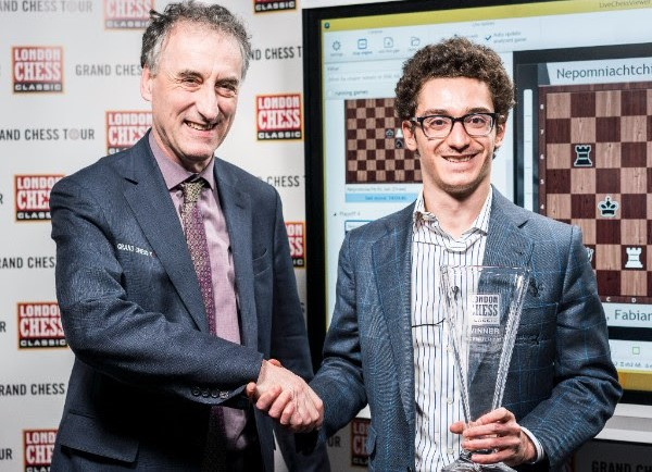 Fabiano Caruana wins London Chess Classic