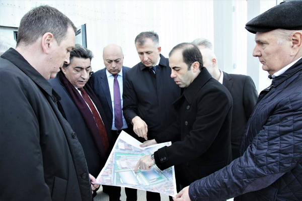 FIDE inspection for Chess Olympiad in Batumi