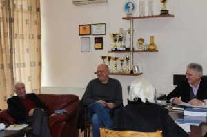 The meeting of the Georgian Chess Federation where Azmaiparashvili candidacy was confirmed