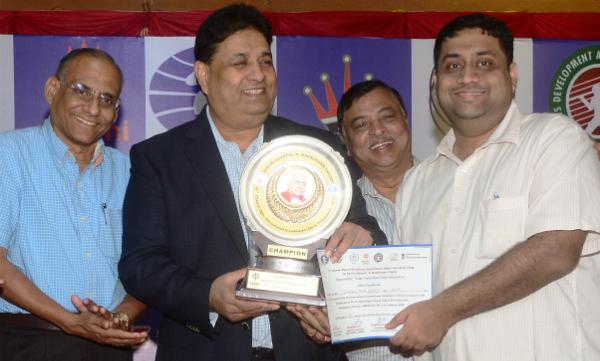 R R Laxman Chennai trophy