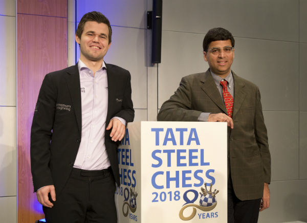 Start of 80th edition Tata Steel Chess Tournament 1