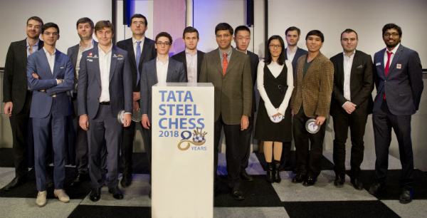 Start of 80th edition Tata Steel Chess Tournament