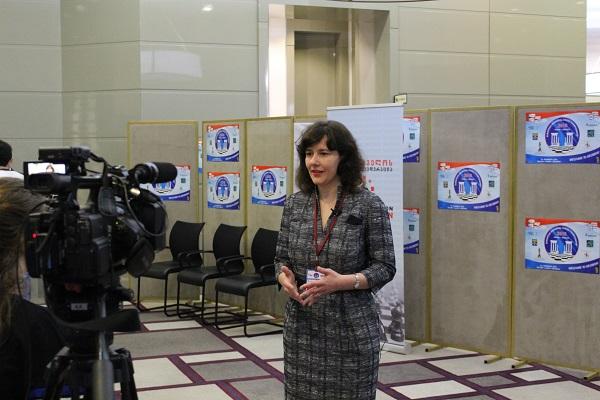 Mrs Dana Reizniece-Ozola, Woman Grandmaster and Minister of Finance of the Republic of Latvia