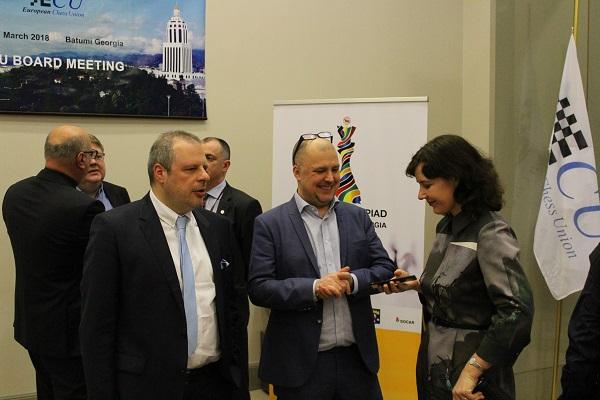 Theodoros Tsorbatzoglou, Carl Fredrik Johansson and Dana Reizniece-Ozola