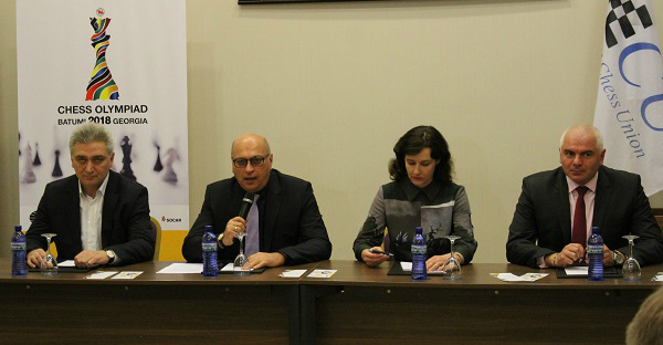 Zurab Azmaiparashvili announces his ticket for the ECU elections
