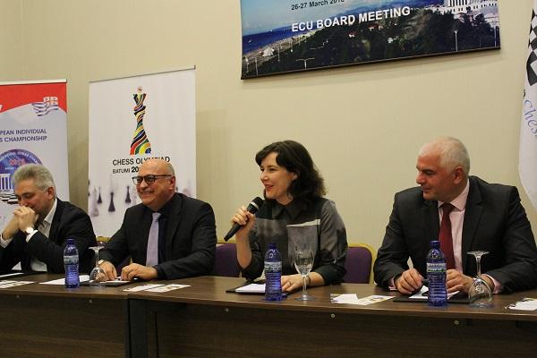 Zurab Azmaiparashvili ticket for ECU elections
