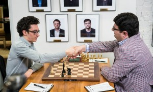 Caruana resigns vs Izoria at US Championship