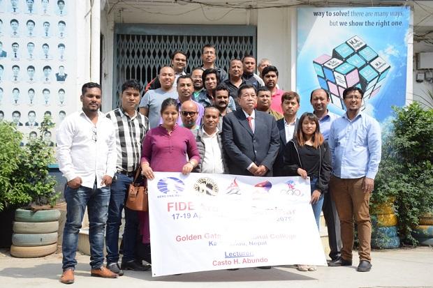 FIDE Arbiters' Seminar in Kathmandu, Nepal