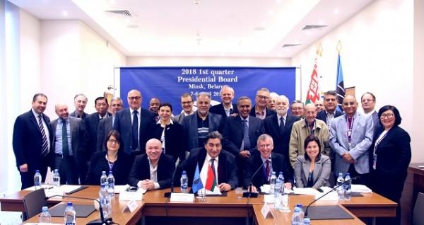 FIDE Presidential Board Minsk