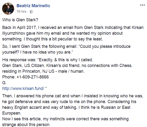 Beatriz Marinello statements