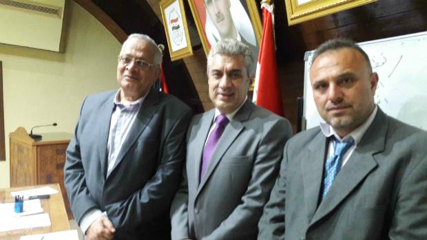 FIDE Arbiters' Seminar in Damascus 1