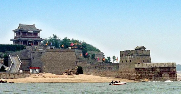Qinhuangdao is the eastern-most point of the Great Chinese Wall