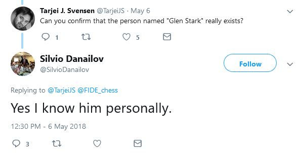 Danailov confirms he knows Glen Stark / Igor Shinder