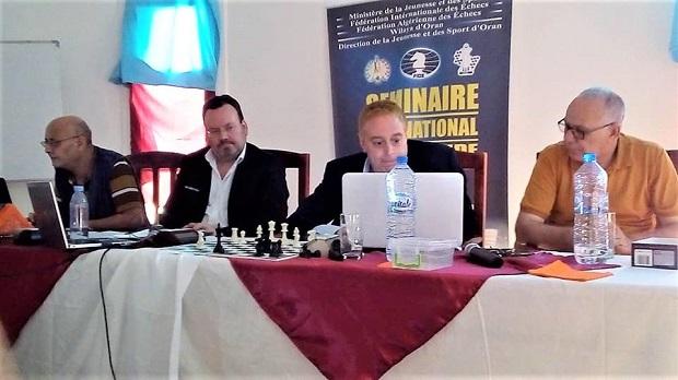 FIDE Arbiters' Seminar in Oran, Algeria